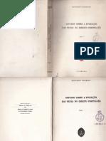 Estudos Sobre a evolução das penas no dir port - Eduardo Correia