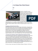 Formula 1 Race Car Design Takes Finite Element Analysis
