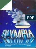 Benjamin Lighting Olympia HID Low Bay Brochure 1978