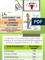 Re-echo on Assessment