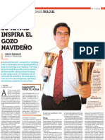 Reportaje Siglo XXI Carlos Rabanales