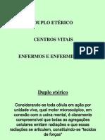 Duplo Eterico Centros Vitais
