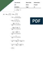 TUgas kalkulus 3