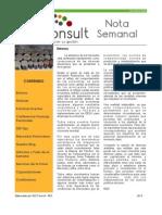 Nota Semanal 25-05-13
