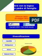 Mazziero ITF2013 - Investire Con La Logica Del Buon Padre Di Famiglia