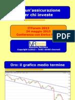 Mazziero ITF2013 - Oro Assicurazione Per Investitori