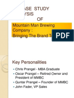 Mountain Man Brewing Company Case Study Analysis