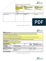 Stakeholder Analysis and Messaging Matrix a and b Template