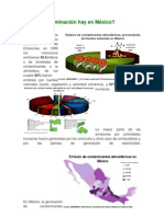 Cuánta contaminación hay en México