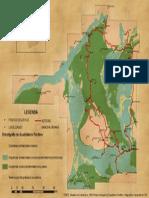 Mapa Geologico Serra Gandarela