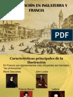 LA ILUSTRACIÓN EN INGLATERRA Y FRANCIA