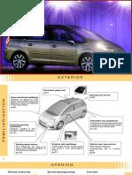 Citroen C4 PICASSO + Grand C4 PICASSO Owners Handbook