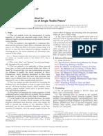 D3822_2007_Standard Test Method for Tensile Properties of Single Textile Fibers