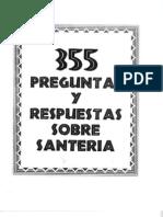 355 Preguntas y Respuestas Sobre Santeria 1