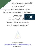Manual Reiki Mariel