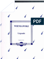 Legende H. Wieniawski Viola & Piano