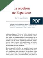 La Rebelion de Espartaco