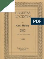 Heise Karl_Okkultes Logentum_1921_98 S.pdf