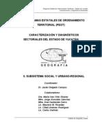 SubsistemaUrbano Regional Yucatan OT