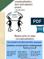 Contextualise CBT Skills Within Case Conceptualisation, Formulation