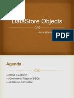 DataStore Objects