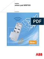 Wireless Sensor Pad WSP100
