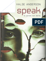 Laurie Halse Anderson - speak le parole non dette