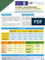 Feocromocitomas y Paragangliomas