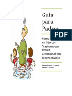 ESTRATEGIAS PSICOLÓGICAS PARA EL TRASTORNO POR DÉFICIT DE ATENCIÓN CON HIPERACTIVIDAD