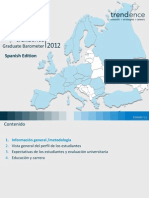 Trendence Graduate Barometer 2012 Spanish Edition