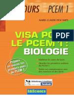 Visa Pour Le PCEM1 Biologie (1)