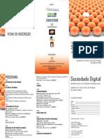 Sociedade Digital Panfleto