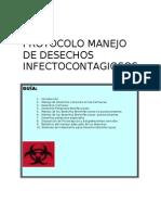Protocolo Manejo Desechos Infectocontagiosos