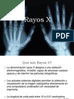 Presentacion de Rayos x