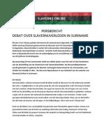 Uitnodiging Persbericht Debat Herdenken Slavernijverleden Definitief