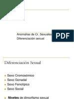 Unidad No. 4. Anormalidades de Los Cromosomas Sexuales .