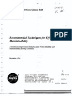 NASA-TM-4628_Recommended Techniques for Effective Maintainability_1994