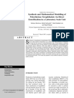 Synthesis & Mathematical Modeling of PET via Direct Esterification