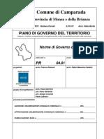 PGT CAMPARADA PR 04 01 Norme Di-Governo Del Territorio OSS