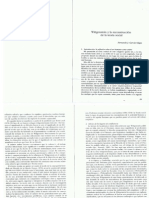 F.J. García Selgas - Wittgenstein y la reconstrucción de la teoría social