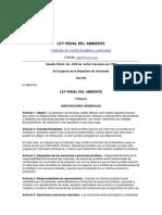 Ley Penal Del Ambient e
