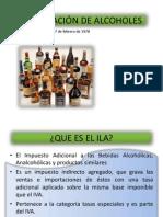 Proporcionalidad de Alcoholes
