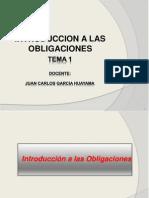 Derecho de Obligaciones II