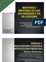 Unidad 8 Del renacimiento europeo a la Revolución Francesa