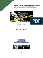 OBAMA Future Assassination Crime Scene Investigation