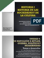 Unidad 9 De Napoleón a Hitler Guerra, política y modernidad
