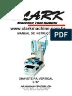 MANUAL DE INSTRUÇÕES - Chaveteira Vertical Clark CHV 200