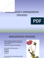 Analgesicos y Antagonista Opioides