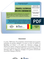 Guinea National Profil April 2012