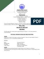 City Council Agenda October 12, 2010